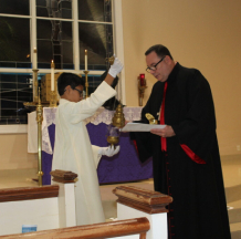 Station of the Cross & Benediction of the Cross